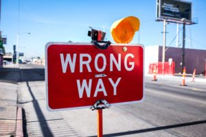 If You Were Involved in a Wrong-Way Accident