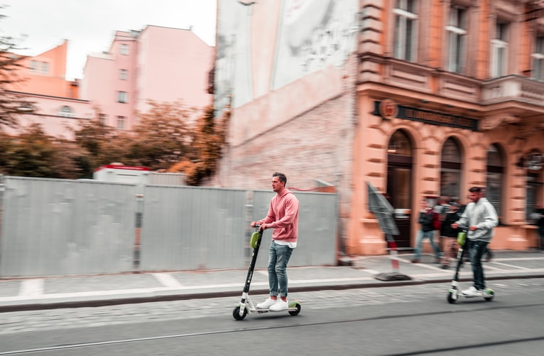 The Risks of Riding Dockless Electronic Scooters along Delaware Streets